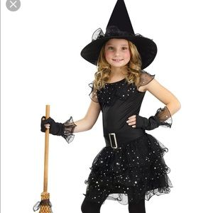 Other - Glitter witch toddler costume